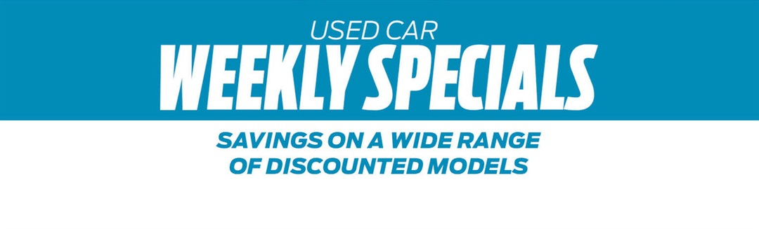 Used Car Weekly Specials at Range Ford Perth WA